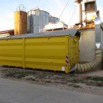 Trocknung mit Abwärme der Biogasanlage